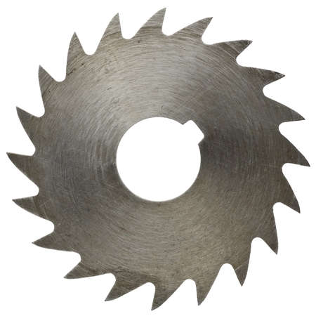 Circular saw blade for wood work photo