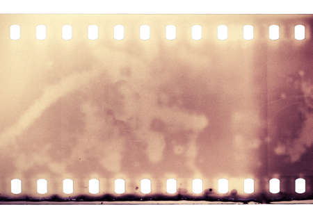 35mm: Blank grained film strip texture