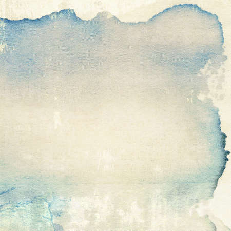 La textura del papel envejecido con bordes mancha