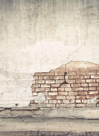 graffiti: Edad calle la pared de fondo, la textura Foto de archivo