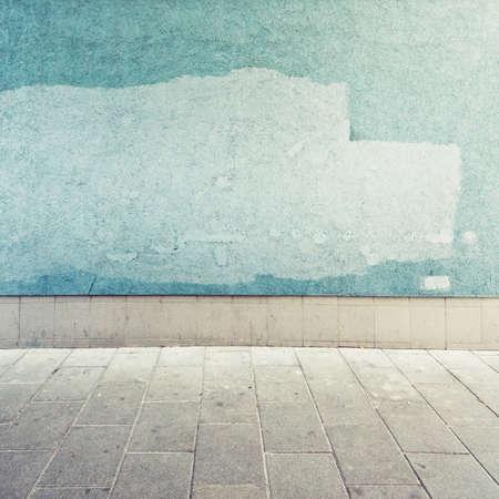 Aged Straße Mauer Hintergrund, Textur