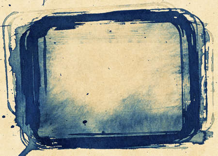 Abstract painted grunge background, toned ink texture. Stock Photo - 12455229