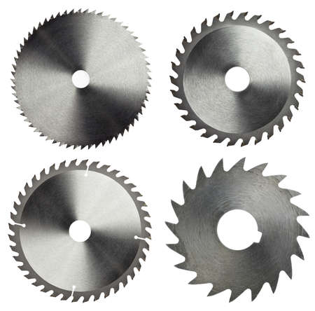 Circular saw blades for wood work photo