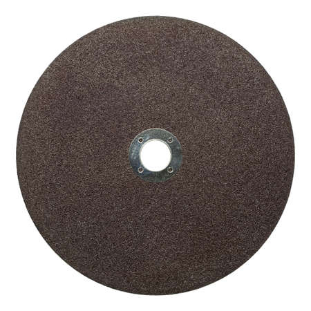 Circular saw blade. Abrasive disk for metal cutting work. photo