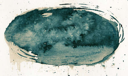 Abstract painted grunge background, ink texture. photo