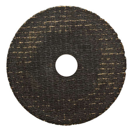 Circular saw blade  Abrasive disk for metal cutting work  photo