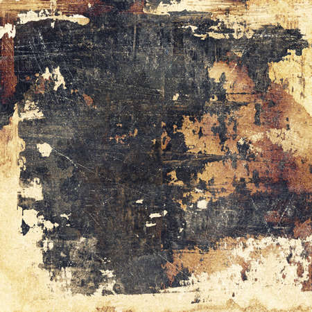 Aged paper texture, grunge background photo