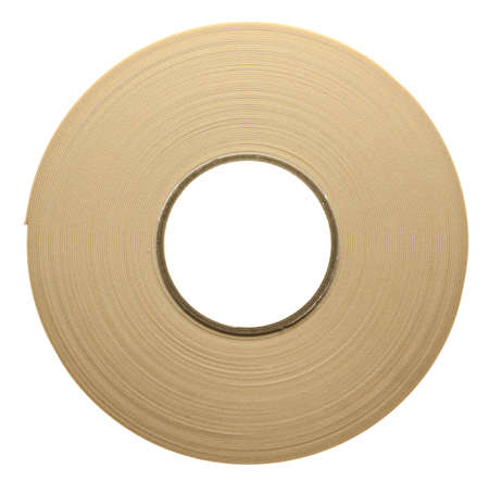 duplex: Roll of duplex adhesive tape isolated on white background  Stock Photo