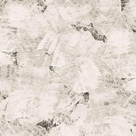 oude krant: Grunge collage achtergrond gemaakt van gescheurde geschilderd krant