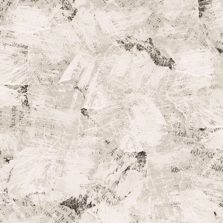 tearing: Grunge collage background made of torn painted newspaper