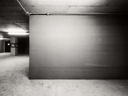 Empty warehouse wall, can be used as industrial background Stock Photo - 12781952