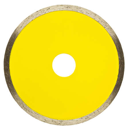 Circular saw blade. Disk for stone cutting work. photo