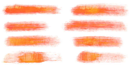 Watercolor hand painted brush strokes  Stock Photo - 13012994