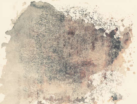 gouache: Abstract painted grunge background, ink texture  Stock Photo