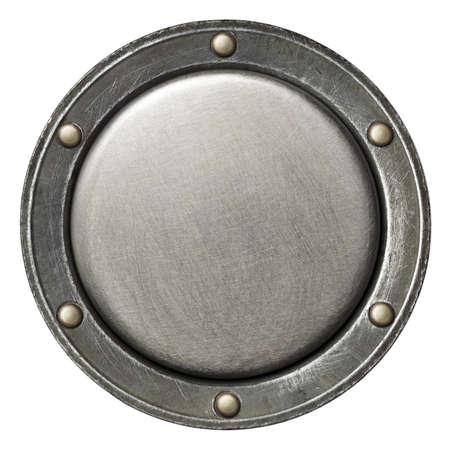 Diseñado de fondo redondo de metal, la textura