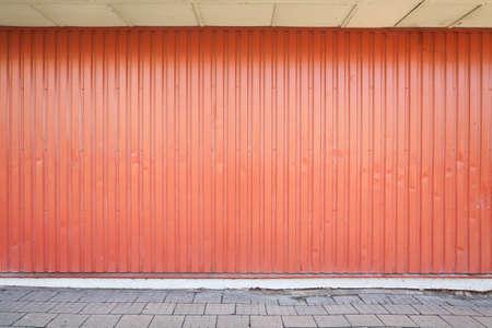 Empty warehouse Wand, kann als Hintergrund in der Industrie verwendet werden,