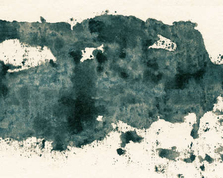 Abstract painted grunge background, ink texture  photo
