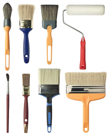 carpenter items: Painting tools  Brushes and roller