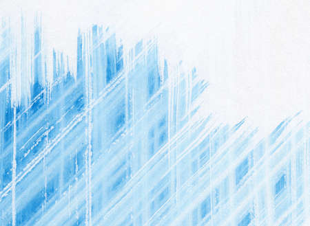 Abstract blue watercolor background. photo