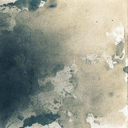 Abstract painted grunge background, splattered ink texture  photo