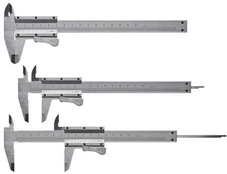 vernier caliper: Calipers isolated on white background