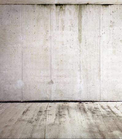 muro: Parete di fondo in cemento, struttura Archivio Fotografico