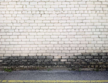 Aged brick wall background, texture photo