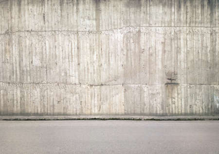 Concrete wall background, texture Stock Photo - 14517635