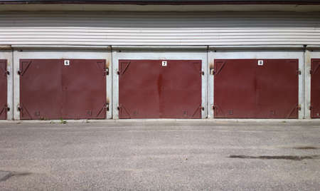 Garage doors photo