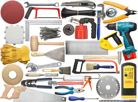werkzeug: Werkzeuge f�r Holz, Metall und andere Bauarbeiten.