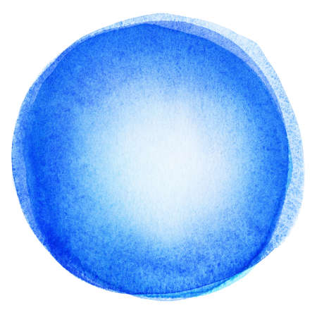 Watercolor circle shape background Stock Photo - 14901200