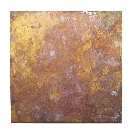 bronze background: Bronze plate texture, old metal background