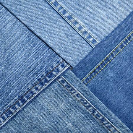 jeans texture: Blue denim jeans texture, fondo