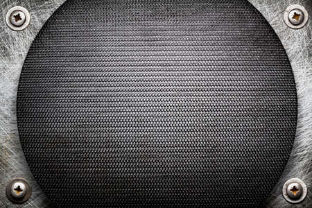 Metal grid texture, background photo