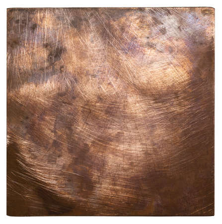 Copper plate texture, old metal background. Stock Photo - 15893231