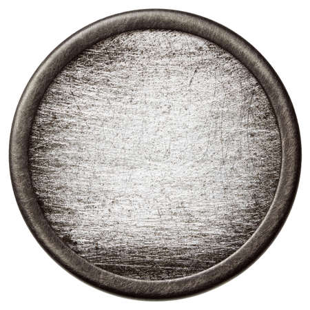 Vintage background. Aged metal texture in a round frame. Stock Photo - 15893227