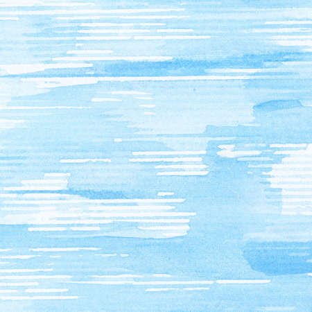 handmade graphic texture: Abstract blue watercolor background, texture.