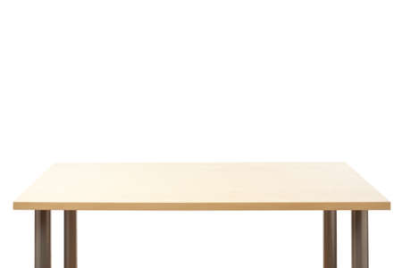 office appliances: Empty top of the table, isolated  Stock Photo