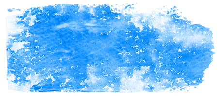 hand painted: Abstract blue watercolor background, texture