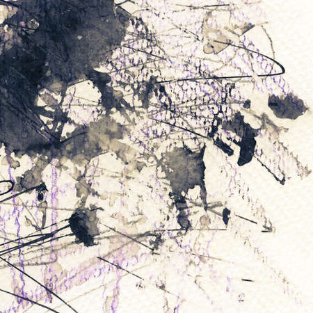 gouache: Abstract grunge background, ink texture.