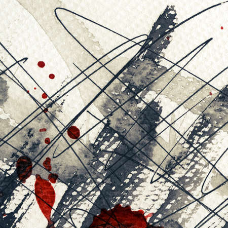 Abstract grunge background, ink texture. Stock Photo - 16334357