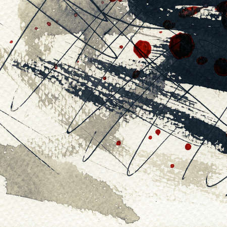 Abstract grunge background, ink texture. Stock Photo - 16334364