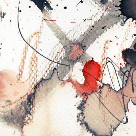 Abstract grunge background, ink texture. Stock Photo - 16334366