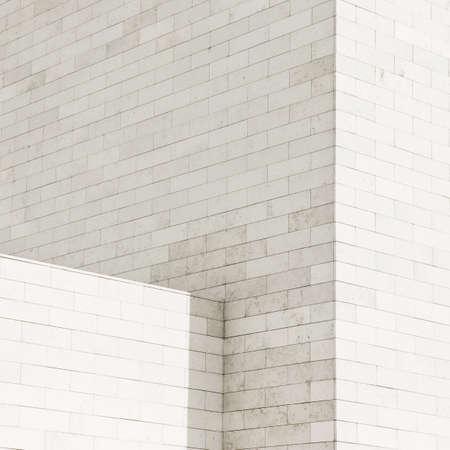 White brick wall background, texture Stock Photo - 17095561