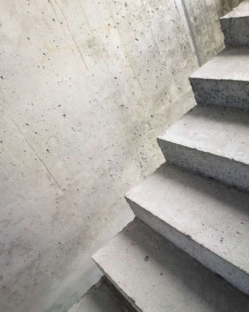 Abstract concrete building stairway composition Stock Photo - 17095613