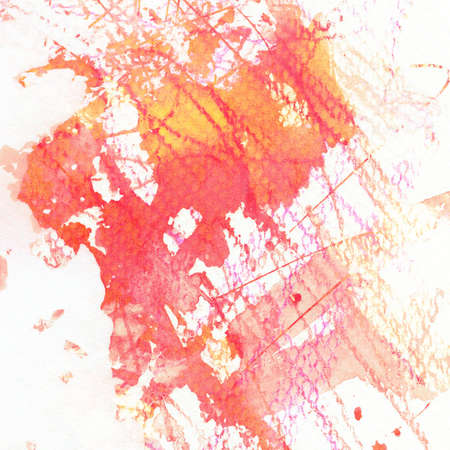 Abstract hand painted watercolor background Stock Photo - 17059891