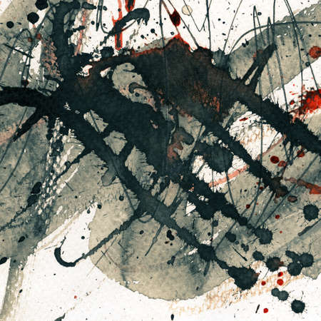 Abstract grunge background, ink texture. Stock Photo - 17344843