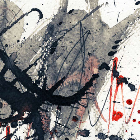 Abstract grunge background, ink texture. Stock Photo - 17543374
