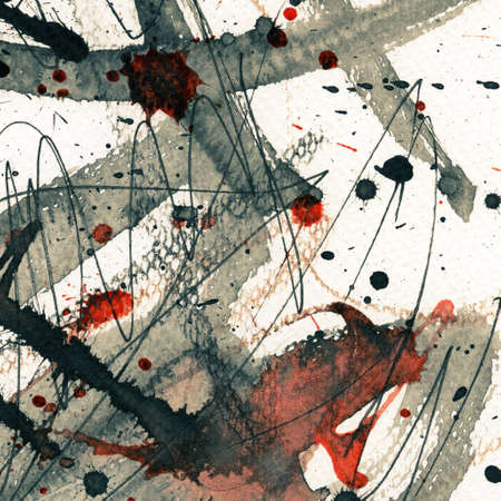watercolor abstract: Abstract grunge background, ink texture.