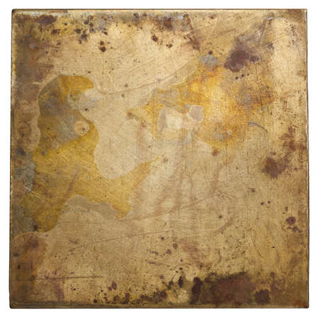 Brass plate texture, old metal background Stock Photo - 17977268